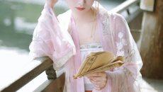 【汉服小仙女】美人入景似温柔