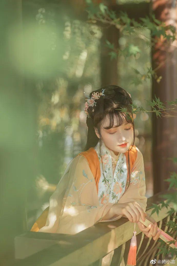 【汉服摄影】与你晨钟暮鼓,安之若素