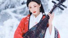 【汉服摄影】皑如山上雪,皎若云间月