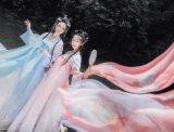 """汉服品牌界""""网红""""如梦霓裳:希望越来越多的人能体验中华传统文化的服饰之美"""