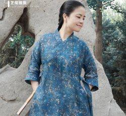 芝兰雅集中国风汉元素复古中式女装