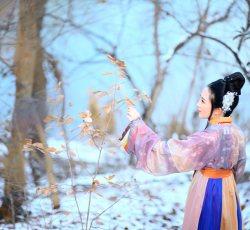 新年初雪兆丰年