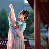 重回汉唐 云之君 原创品牌传统日常汉服女装印花齐胸襦裙非 古装