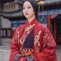 重回汉唐龙凤呈祥婚嫁男女秦汉婚服新郎新娘中式结婚礼服套装定制
