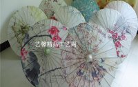 油纸伞古典工艺伞舞蹈装饰吊顶DIY手绘画伞江南雨伞cos演出道具伞