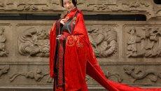 汉尚华莲 传统汉服 周制婚服 量身定制款 比翼鸟