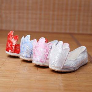 重回汉唐 原创品牌汉服鞋子女式翘头履传统手工千层底加胶底布鞋