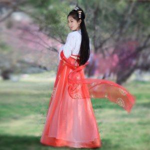 如梦霓裳汉服女装对襟襦裙[闲中好]三十三夏季日常新款褙子传统仙