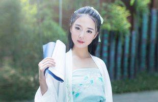 华小夏三生一梦重回汉唐中国风改良汉服女装长褙子齐腰襦裙汉元素