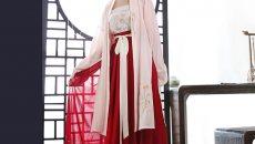 重回汉唐夏款日常长褙子吊带齐腰裙