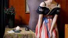 织羽集日常汉元素夏季新款女装连衣裙