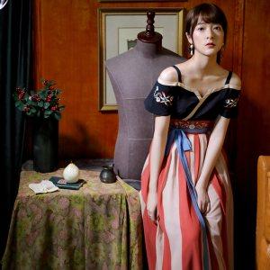 【寸锦】徐娇 织羽集日常 汉元素服 夏季新款 复古 女装 连衣裙