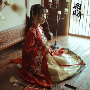 【十三余 小豆蔻儿】[水调歌头] 齐胸襦裙绣花大袖衫长袖外套