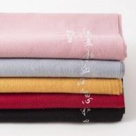 【十三余 小豆蔻儿】[红豆词]围巾汉字刺绣流苏长款披肩