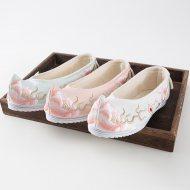 【十三余 小豆蔻儿】[芍药]平底坡跟弓鞋
