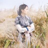 山有扶苏 原创山鬼九问系列 汉服男女仙鹤绣花窄袖交领半臂襦裙套