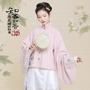 【买二送一】汉尚华莲x知否概念款仙媛汉服装明制立领上袄琵琶袖
