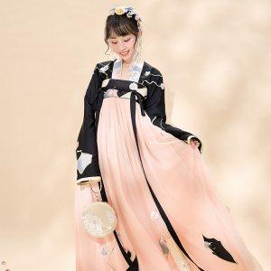 【十三余 小豆蔻儿】[缓缓归]对襟齐胸两片式下裙襦裙汉服绣花女
