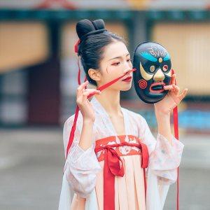 汉尚华莲原创传统汉服女装太平齐胸襦裙两色高腰日常性价比春夏款