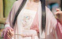 汉尚华莲传统汉服配饰女装刺绣短背心春夏季吊带搭配褙子襦裙抹胸