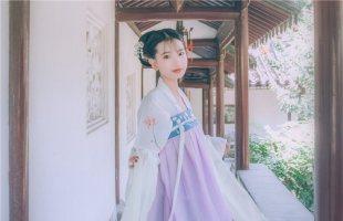 【远黛】梨花渡原创传统汉服女 齐胸对襟襦裙日常春夏套装
