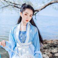 重回汉唐烟疏月吊带正品汉服女上衣上襦配饰抹胸内搭中国风春夏季