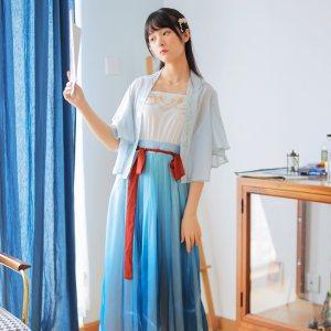 徐娇织羽集[醉花阴] 天涯明月刀合作款 免费抢红包最快的软件元素女 外套 吊带裙