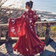 【十三余 小豆蔻儿】[牡丹国色]重工刺绣大袖衫婚服外套汉服女