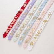 【十三余 小豆蔻儿】[花神]六色绣花发带刺绣束发汉服配饰