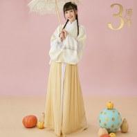 【十三余 小豆蔻儿】[流风回雪]5色印花交领短衫一片式下裙汉服女