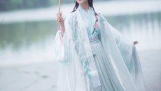 漱玉词剑网三长歌衍生晋襦大袖衫