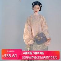 重回汉唐凤鸾歌原创正品织金立领明制袄裙马面裙汉服女中国风春季