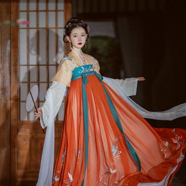 芥子记【三生】齐胸襦裙汉服女春正品原创中国风飘逸仙气对襟上襦
