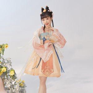 【十三余 小豆蔻儿】[上官婉儿玉簪花神-忘川风华录联名款]连衣裙