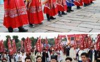 林志玲前经纪人加盟第二届汉服文化周